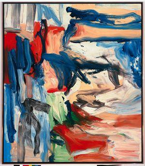 "Willem di Kooning, ""Untitled VI,"" 1979. copywrite The Willem de Kooning Foundation / Artists Rights Society (ARS), New York"