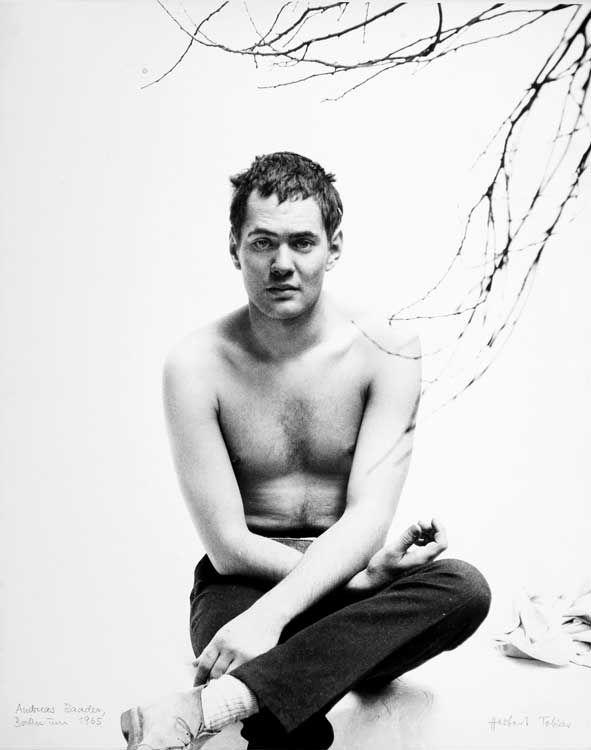Andreas Baader 1965 ©Herbert Tobias