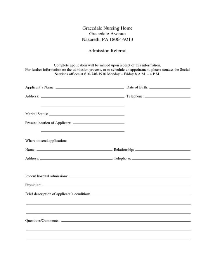 Hospital Discharge Template Download Report Templates Pinterest - hospital admission form template