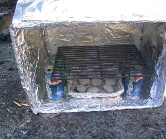 This is one way to make a great box oven.  I used my oven for about 10 years before it needed to be replaced.  You can make all sorts of food in this ...