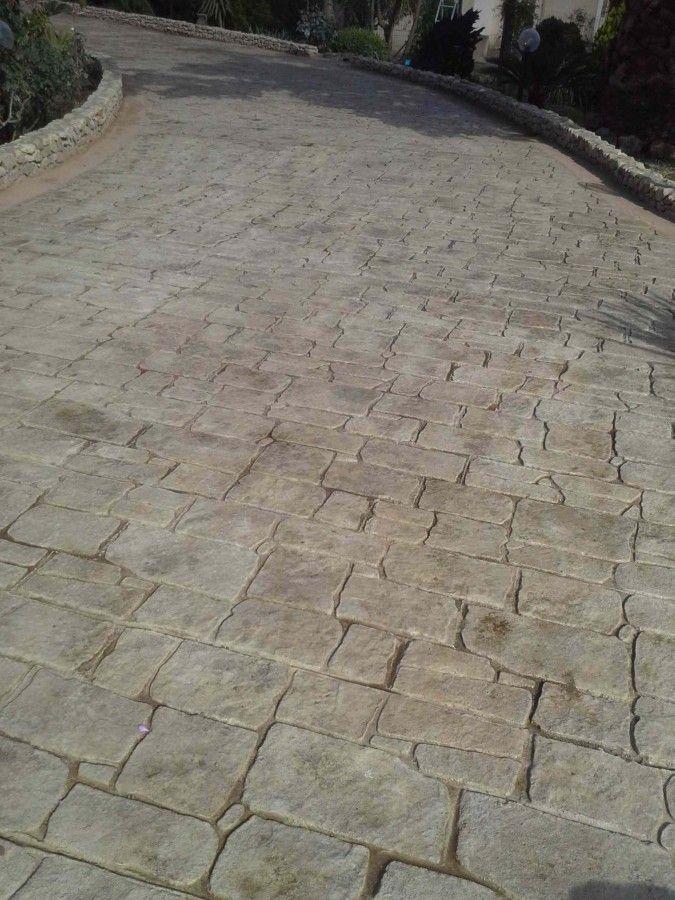 Immagine 51 60 pavimenti in cemento stampato - Cemento colorato per esterno ...