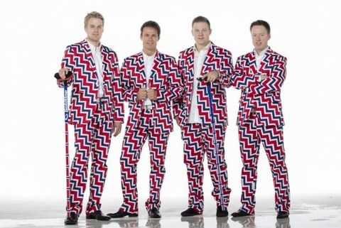 Men's Curling team of Norway for Sochi Olympics@1390693879608