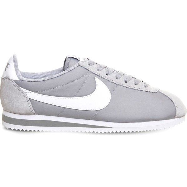 timeless design 95b7a 44baf ... wholesale nike cortez og nylon trainers 66 liked on polyvore featuring  shoes sneakers 87e1f ff505