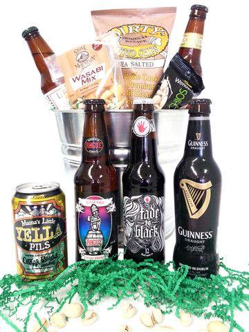 Birthday Beer Gift Basket, Milestone Birthday Bucket, 30th, 40th, 50th, 60th Birthday Beer Gifts – GiveThemBeer.com