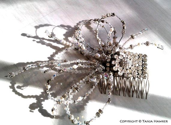 Custom Wedding Hair Comb on Etsy, $1,500.00 AUD