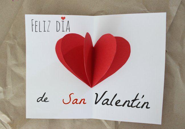 Tarjeta de San Valentín paso a paso (con fotos)