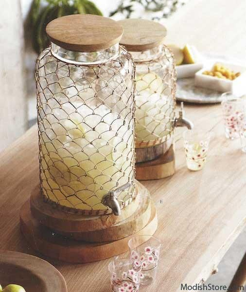 $223.00 Roost Rattan Beverage Dispensers
