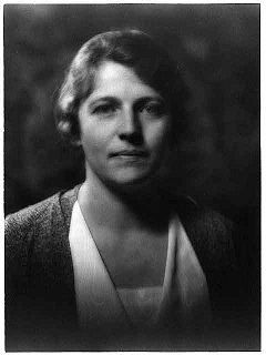 Pearl Buck -  American writer who spent most of her time until 1934 in China. Her novel The Good Earth won the Pulitzer Prize in 1932. In 1938, she became the first American woman to be awarded the Nobel Prize in Literature.