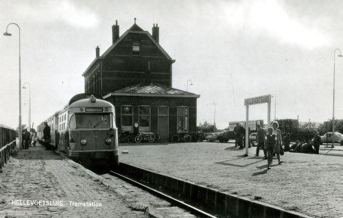 RTM Tramstation Hellevoetsluis