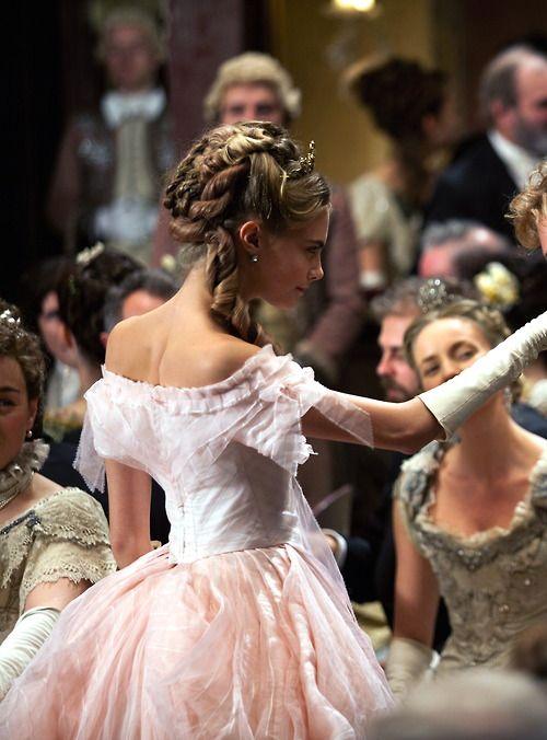 Cara Delevingne as Princess Sorokina inAnna Karenina (2012).