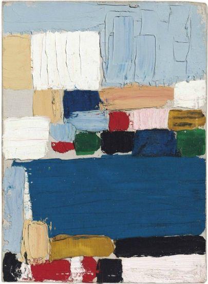 'Composition-Paysage (Le Castelet)' by Nicolas de Staël, 1953