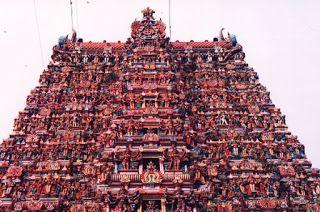 Ο πιο πολύχρωμος ναός στην Ινδία [photos]