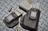 Glock 43 w/Streamlight TLR-6  IWB CCW Holster Combo