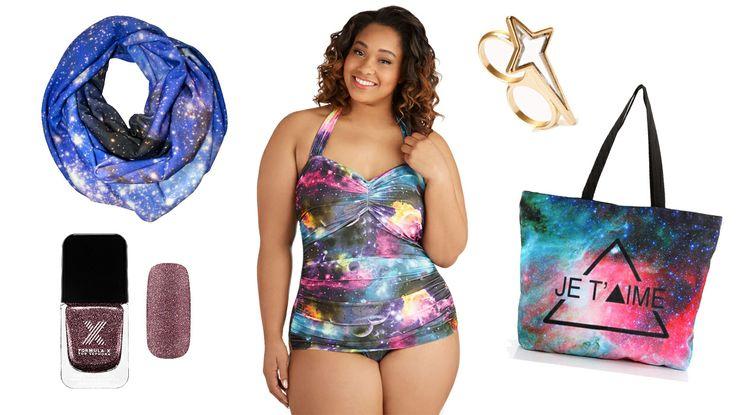 9 Ways To Wear The Galaxy Print: http://bit.ly/1uyk74L   StyleList Canada