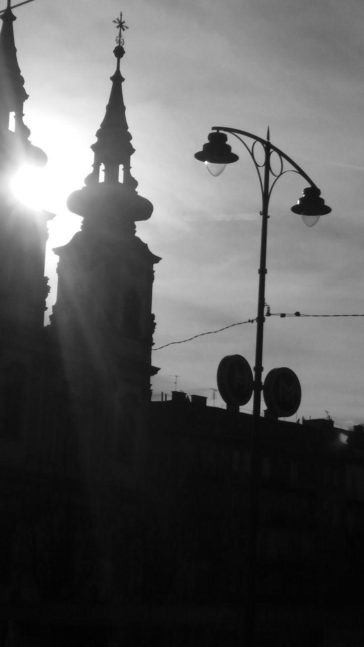 Tornyok napfényben / Towers sunlight
