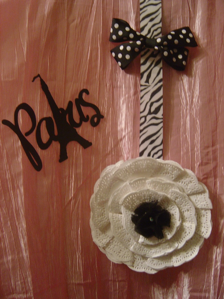 Doillie decoration. (from dollar store): Doillie Decoration
