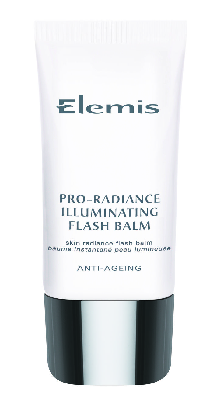 "Elemis Pro-Radiance Illuminating Flash Balm  Introducing an exciting new generation ""hybrid moisturiser"" whose instant skin-flattering qualities are as compelling as its ability to hydrate the skin.  Formulated with a powerful vitamin complex that helps protect against moisture loss, whilst exquisite purple orchid, noni and acai help defend against the early signs of skin ageing."
