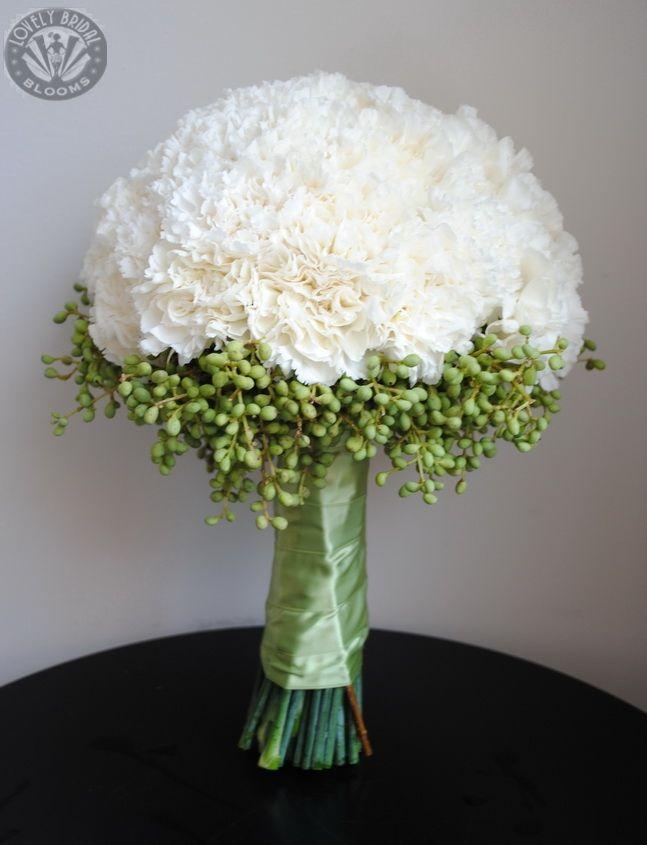 Best white carnation bouquet ideas on pinterest