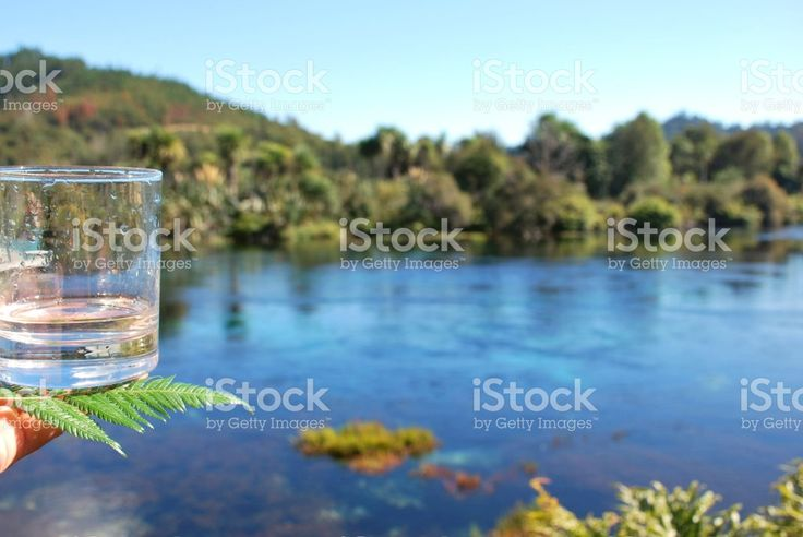 The Freshest Pure Water from a Spring royalty-free stock photo