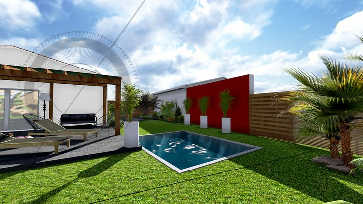 58 best plans images on pinterest apartments architects for Amenagement jardin 250m2