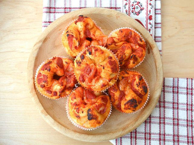 Pizza Muffin Bimby