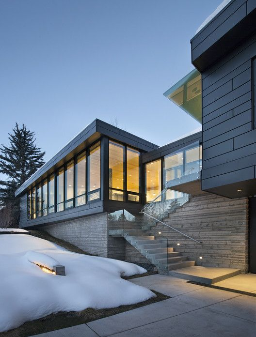 Private House In Aspen, Colorado (USA) By Studio B Photograph: Derek Skalko