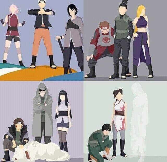 Naruto - The Last Movie - Team 7, 8, 10 and Team Guy ♥♥♥ Neji is missing :(