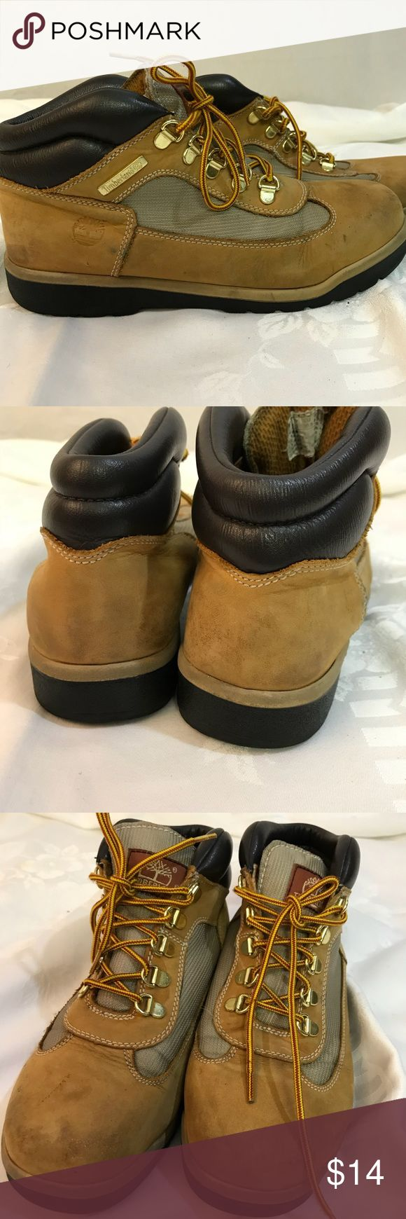 Boys Timberland Boots Timberland Boots . Boys size 6.5. Some wear but a lot of life left. Timberland Shoes Boots