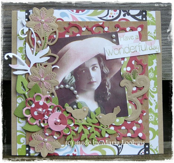 Card with stansjes Noor Design