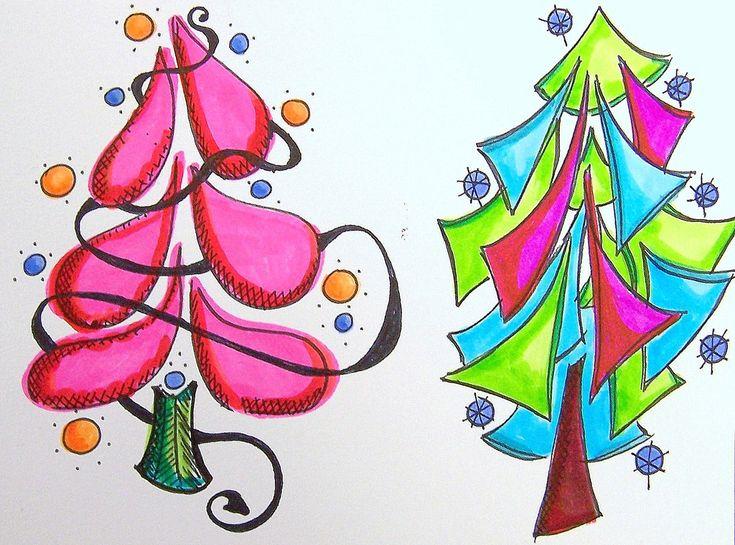 https://flic.kr/p/7myngA | tree doodles