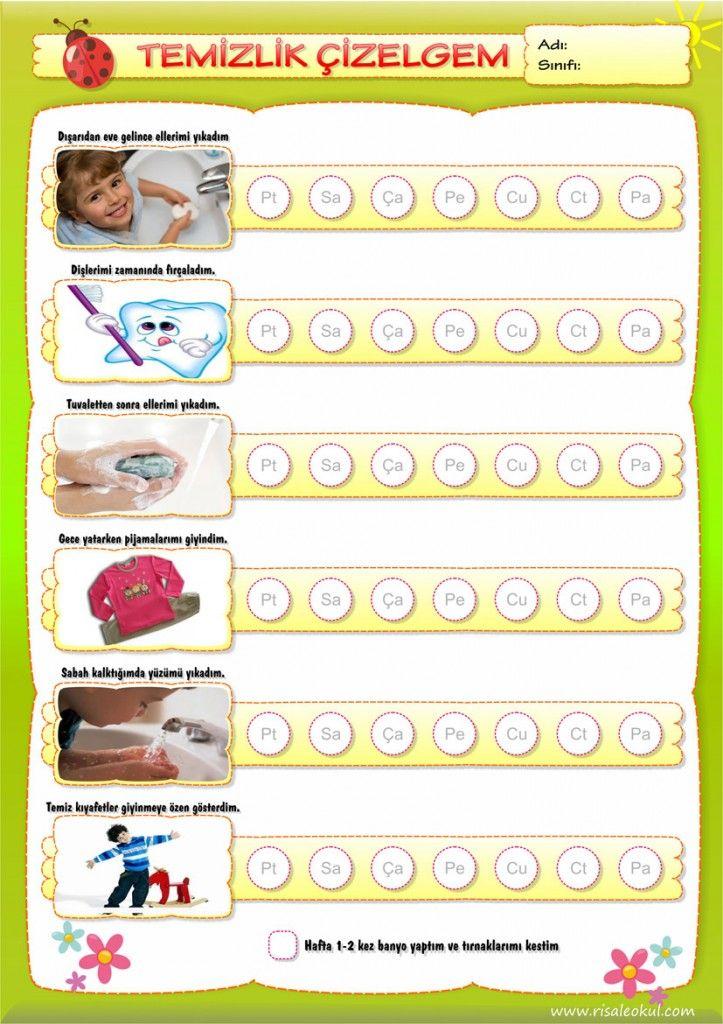 Davranış Takip Çizelgeleri - Muhteşem Bir Set - Okul Öncesi NET / Okul Öncesi Forum Sitesi