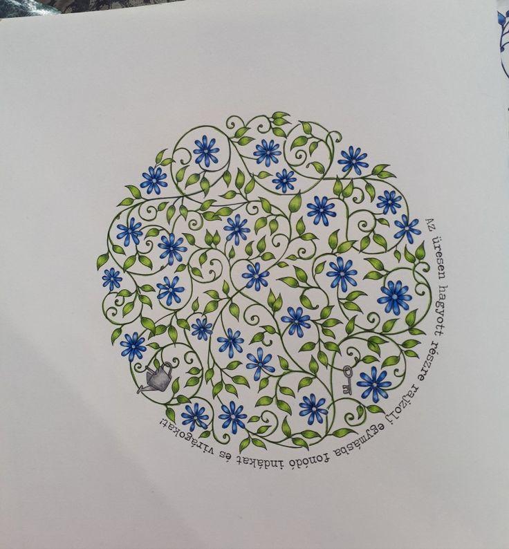 Johanna Basford- Secret Garden-Picture by Gyöngyi Varga.