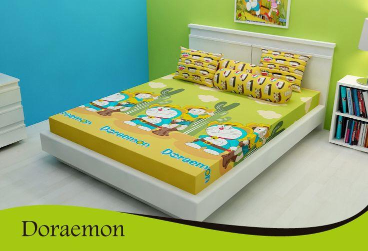 Doraemon www.kintakun-bedcover.co.id