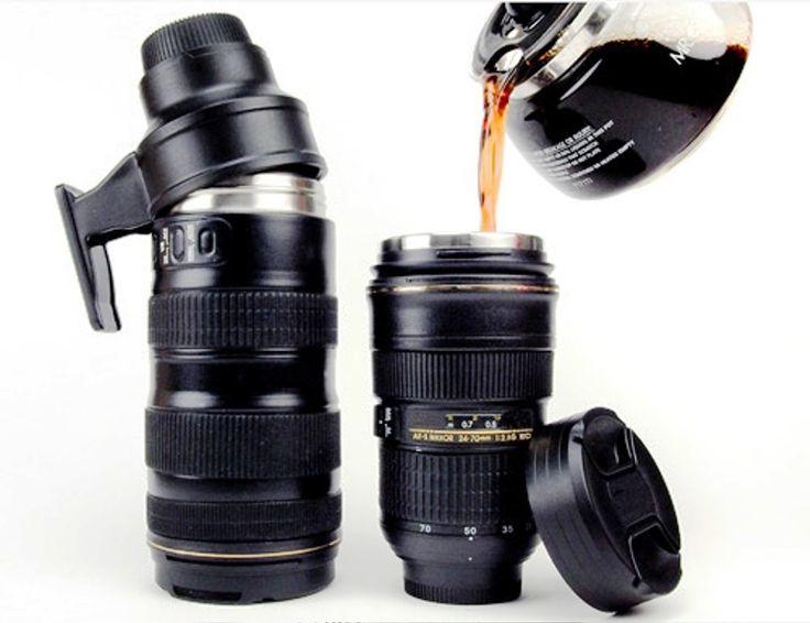 Best Mug Design - Desain Unik Nyleneh - Nikon Camera Lens Mugs