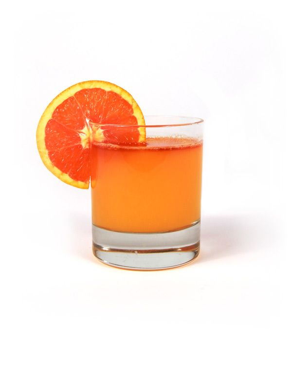 Vodka Orange - 4 oz orange juice - ¾ oz simple syrup - 1½ oz Snowfox - orange and bitters  Tip: Use freshly squeezed orange juice for better taste  * To make your own simple syrup boil water and sugar in equal parts, let cool.