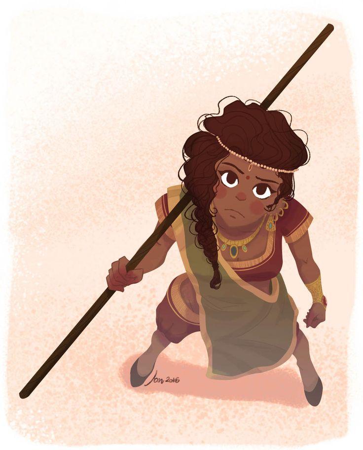 The Badass Indian Girl on Behance