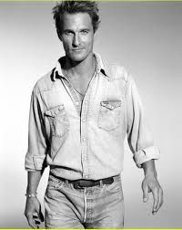 Couldn't resist this one today - Matthew McConaughey. Good Lord he's got Southern Charm and likes to go shirtless often! What's not to love? Personally MM circa How to Lose a Guy in 10 Days is one of my favorites.