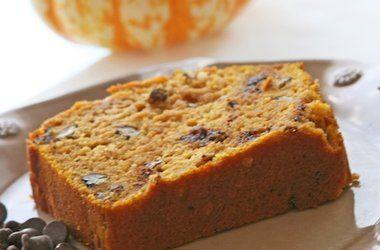 Pumpkin Chocolate Chip Bread with Greek Yogurt — Punchfork
