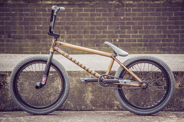 Frame Of A Bmx Bike