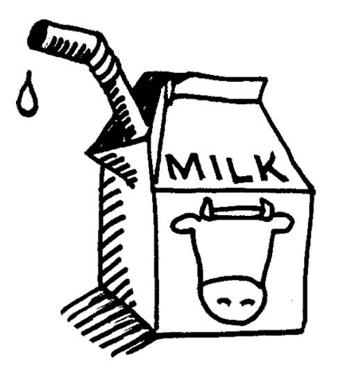 dairy coloring pages - photo#17