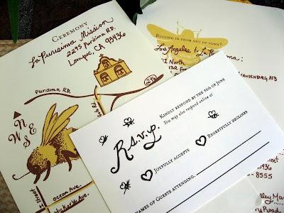 Bee Wedding Invitation ThemeWedding SuiteBumble
