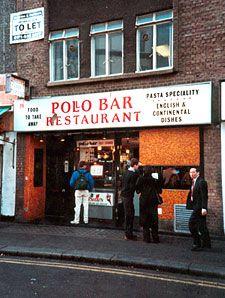 Pollo Bar, Soho - Sadly missed, many happy memories