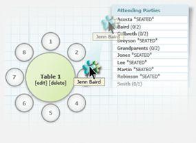Wedding Seating Chart Tool