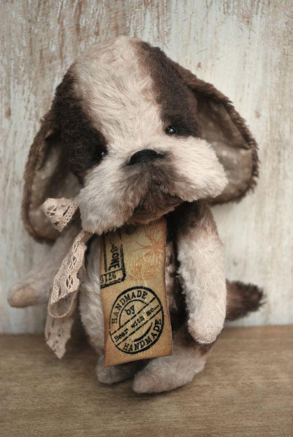 Artist Bear handmade Puppy Esme by bearwithmee on Etsy,