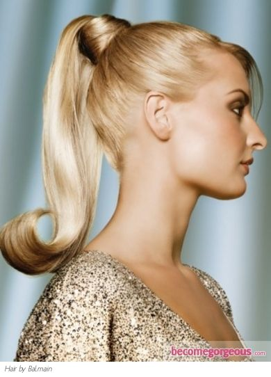 1950s+ponytail+hairstyles | Pictures : Prom and Homecoming Hairstyles - Glam Ponytail Hair Style
