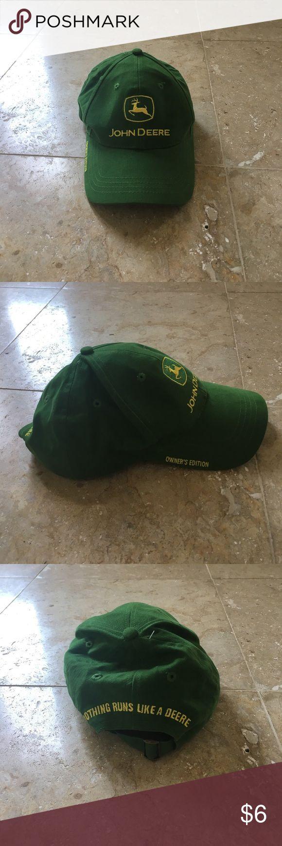 JOHN DEERE HAT Awesome condition John Deere Accessories Hats