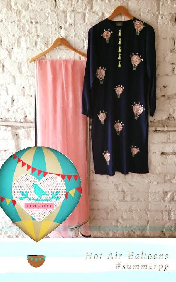 Hot air balloons #kurtaset #summerbypriyankagupta call/message:+919899070899