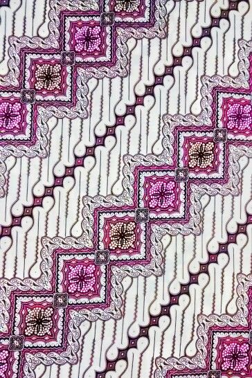 Batik Parang. This is my favorite batik pattern.