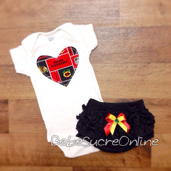 Chicago Blackhawks Girls Outfit