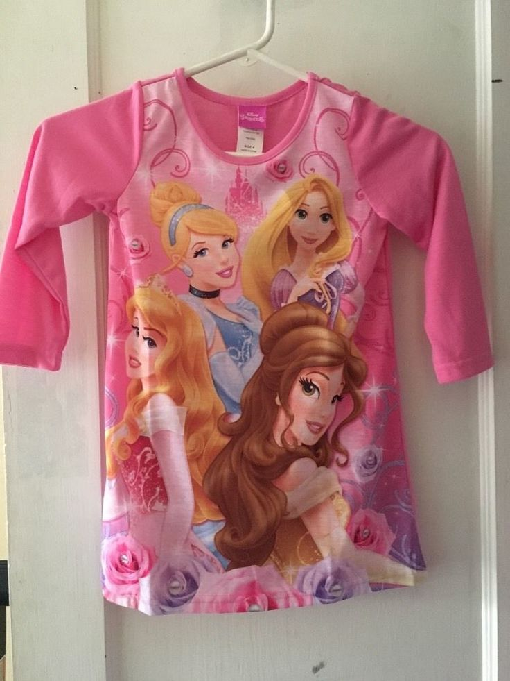 Disney Princess Girls' Nightshirt  | eBay